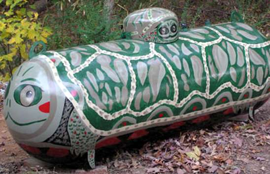 turtle oil tank Fuel Tank Art #2: Animal Tanks