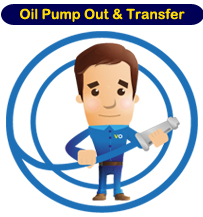 Pump Out Oil Transfer